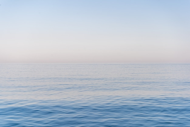 O mar e o céu