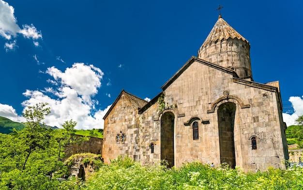 O mosteiro tatev, um mosteiro armênio apostólico do século 9 na província de syunik, no sudeste da armênia