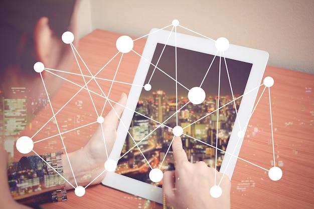 O mundo em um tablet