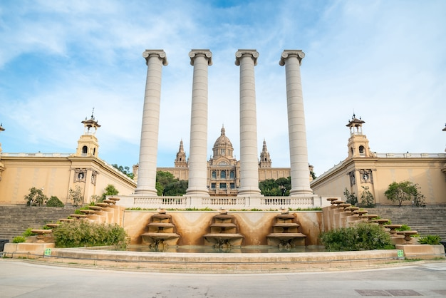 O museu nacional de barcelona
