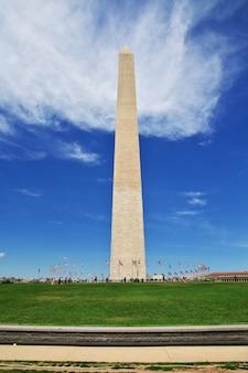 O obelisco em washington, estados unidos