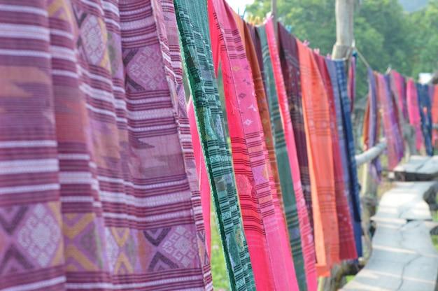 O padrão de belos tecidos