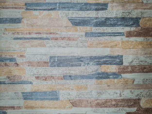 O padrão do piso de cerâmica na parede. padrão clássico