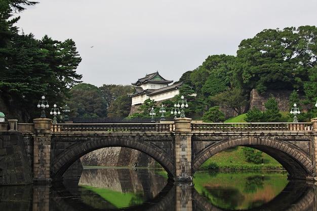 O palácio imperator, tóquio, japão