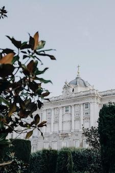 O palácio real de madrid, espanha