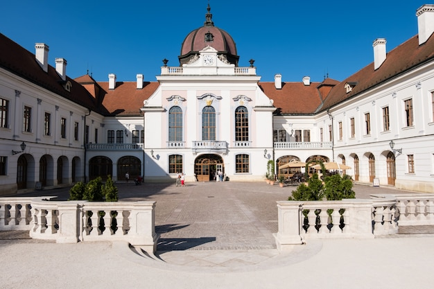 O palácio real em godollo, hungria