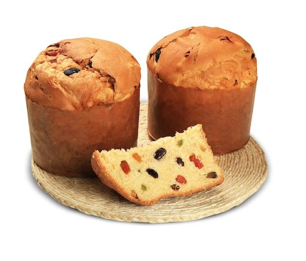 O panetone é a sobremesa italiana tradicional para o natal.