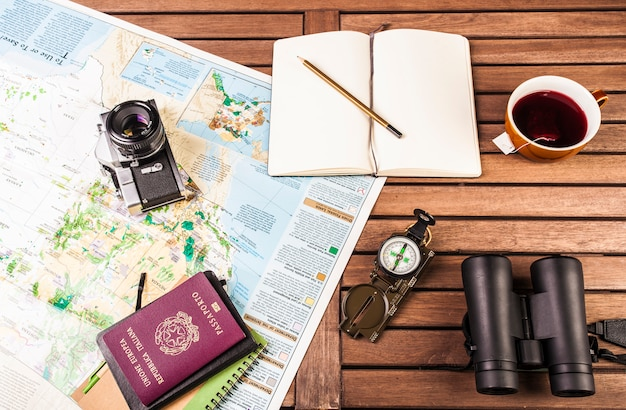 O planejamento de viagens