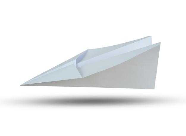 O plano do livro branco isolado no fundo branco e tem trajetos de grampeamento.