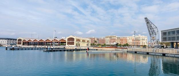 O porto de valência