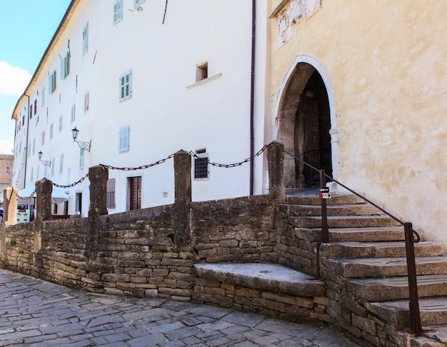 O principal portão da cidade, motovun