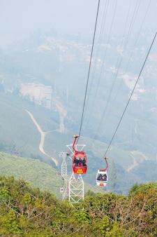 O teleférico de darjeeling
