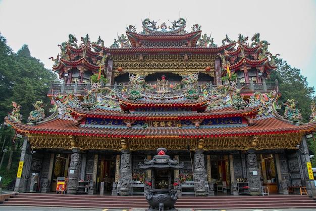 O templo de alishan shouzhen