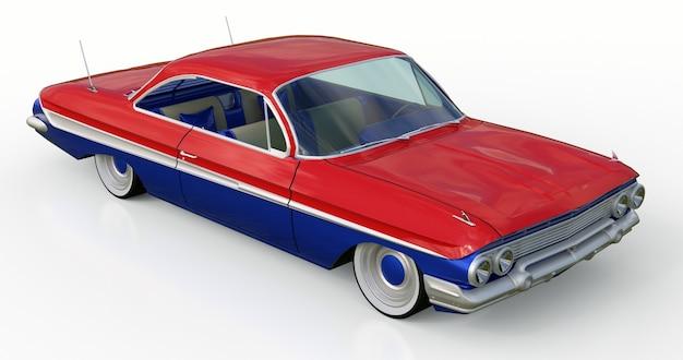O velho carro americano