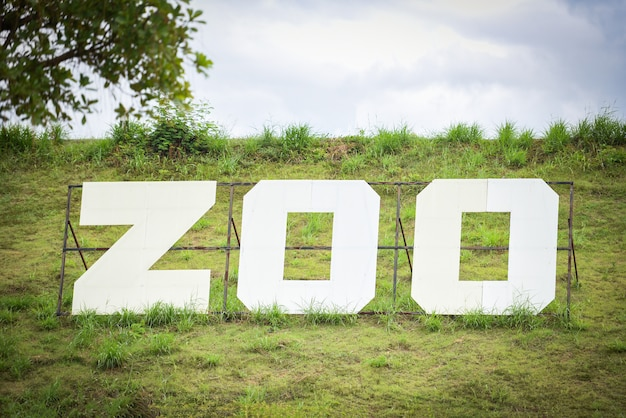 O zoológico