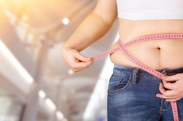 Obesidade, obesidade, diabetes, fitness, abdômen, adulto, fundo