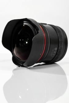 Objetivo de troca da câmera