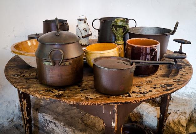 Objetos antigos sicilianos