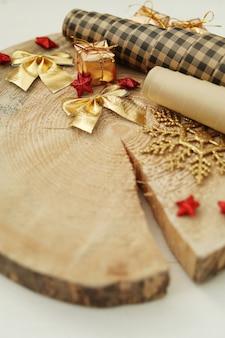 Objetos de decoração de natal