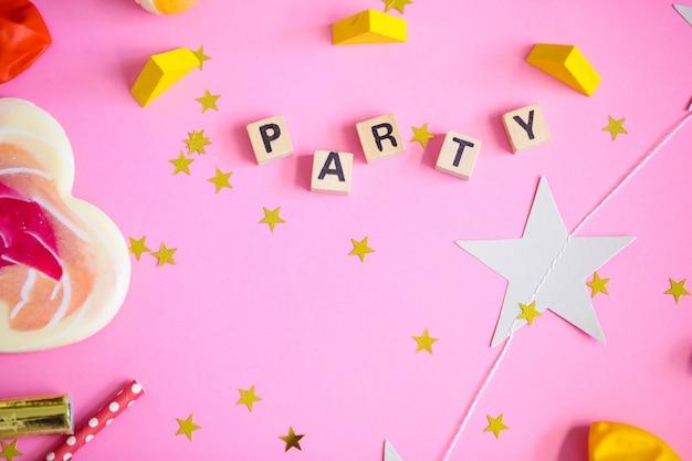 Objetos de festa