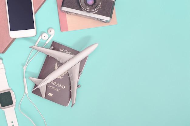 Objetos e acessórios de acessórios de viagem