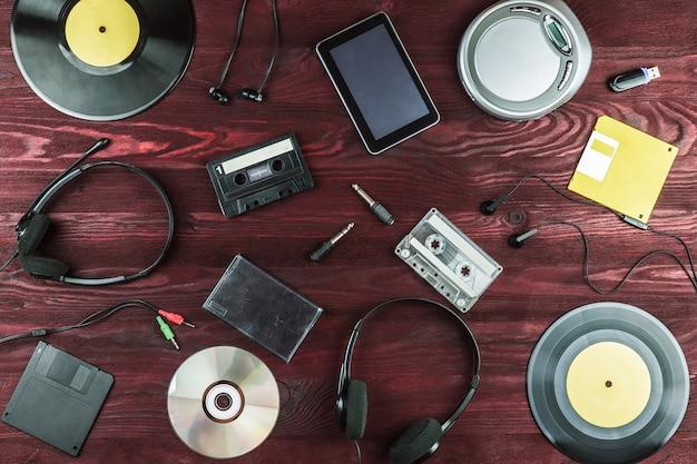 Objetos para gravações de áudio