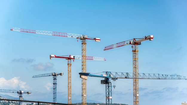 Obras de construção em mônaco