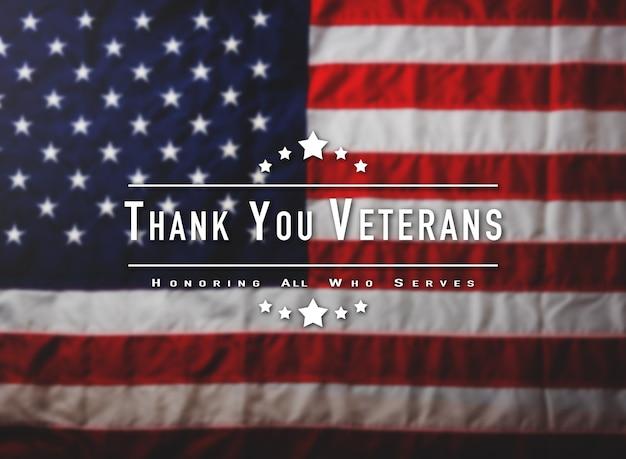 Obrigado mensagem dos veteranos