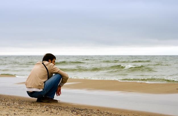 Observando o mar
