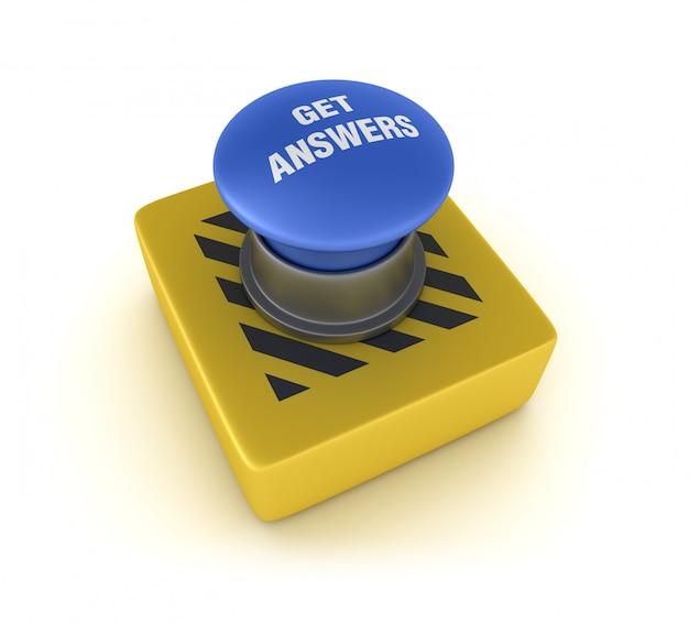 Obtenha respostas botão