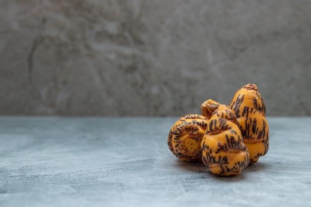 Oca, tubérculo usado na culinária peruana e nos andes americanos