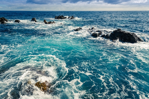 Oceano agitado