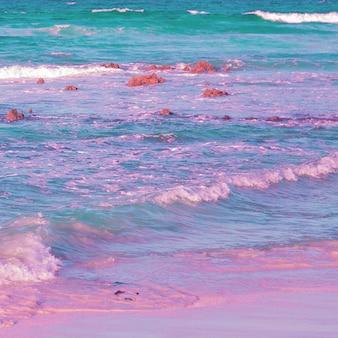 Oceano. amante do oceano. conceito de viagens