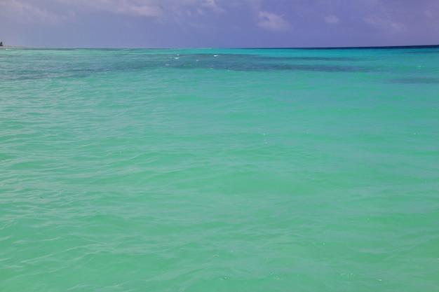 Oceano índico de zanzibar tanzânia