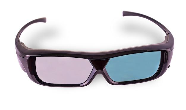 Óculos 3d isolados