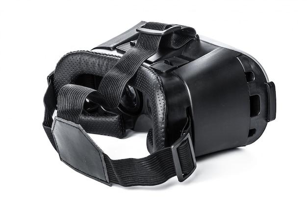 Óculos de realidade virtual em fundo branco
