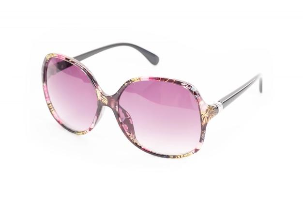 Óculos de sol da moda para as mulheres.