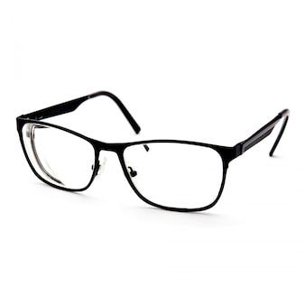 Óculos femininos para visão isolado no branco