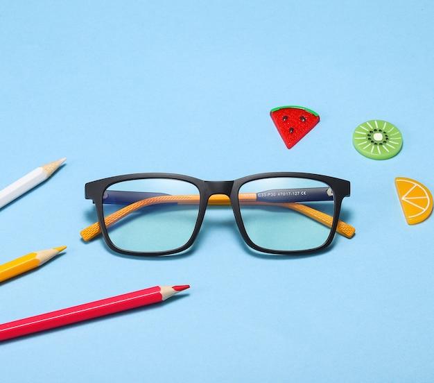 Óculos óticos infantis tr90