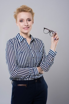 Óculos para corrigir defeito de visão