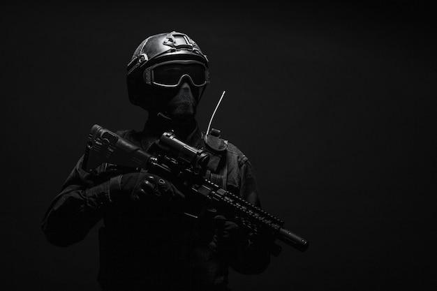 Oficial de polícia spec sws swat