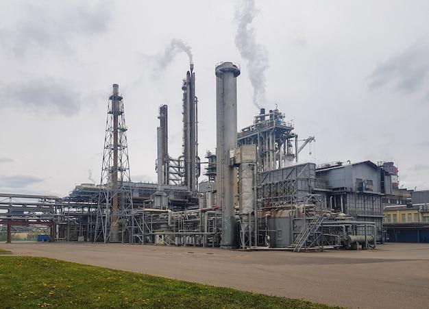 Oficina de grande capacidade para a produção de amônia de uma planta petroquímica