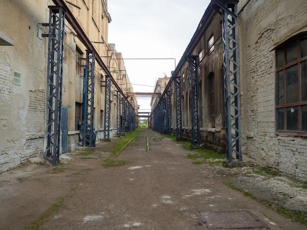 Oficina de máquinas ferroviárias em ivanofrankivsk