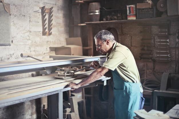Oficina de um artesão