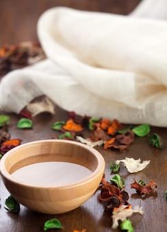 Oilaromaterapia essencial de spa