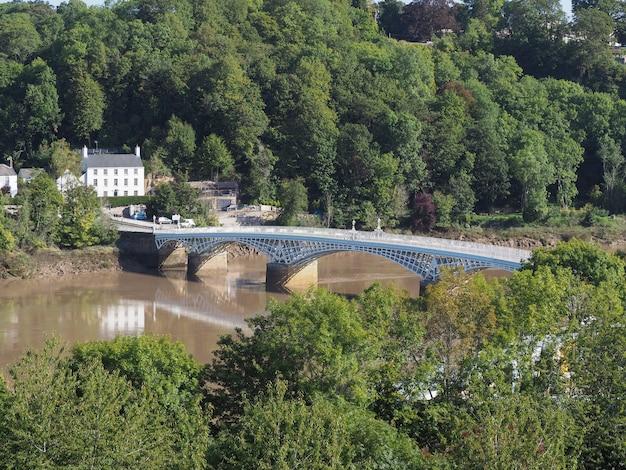 Old wye bridge em chepstow