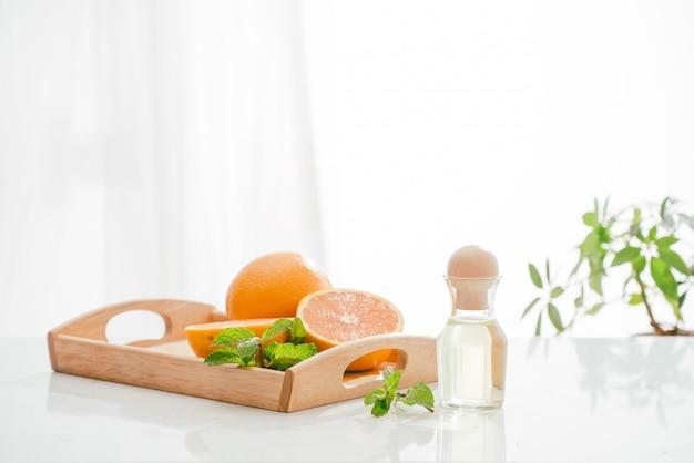 Óleo cítrico natural de laranja, vitamina c
