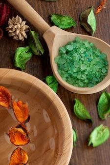 Óleo essencial de spa. aromaterapia