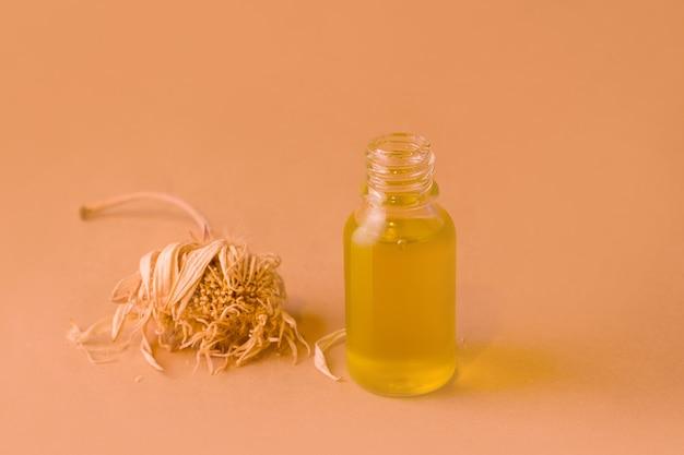 Óleo orgânico cosmético para cuidados com o rosto e o corpo
