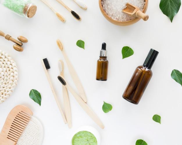 Óleos orgânicos spa cosméticos naturais